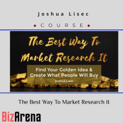 Joshua Lisec – The Best Way...