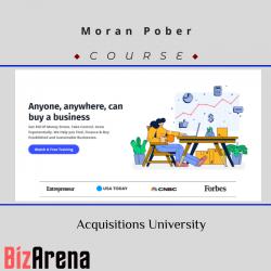 Moran Pober - Acquisitions...
