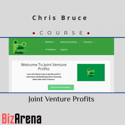 Chris Bruce – Joint Venture...